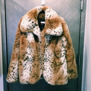 Jackets & Blazers - Faux Fur Jacket